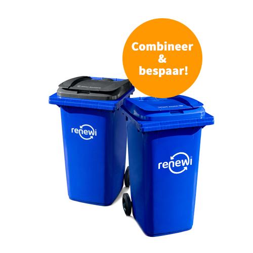 240 liter rolcontainer voor restafval