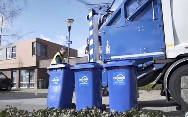 Circulaire Rolcontainer