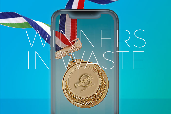 Winners in waste